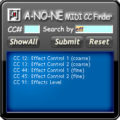 MIDI Continuous Controller Finder