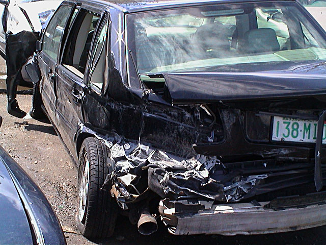 Volvo V70 Wreck 3