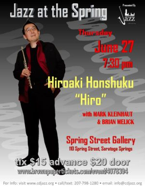 Jazz at the Spring with Hiroaki Honshuku