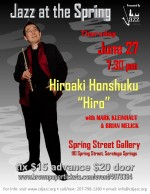 Jazz at the Spring with Hiroaki Honshuku